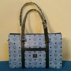 "MCM Leather Bag 100% Authentic MCM Denim leather Bag ""PRICE is firm"" No Trade pls ( price reflects +tax) MCM Bags Shoulder Bags"