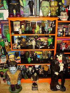 Frankenstein's Monster and Dracula... by Joey Myers, via Flickr