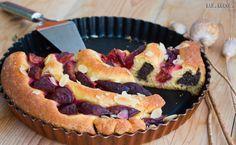 Recept na Slivkový točený koláč Cheesecake, Ale, Sweet, Desserts, Food, Meal, Cheesecakes, Ale Beer, Deserts
