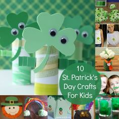 10 St. Patrick's Day Crafts For Kids via @babbleeditors