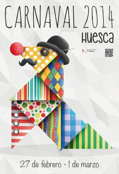 Huesca. Cartel Carnaval 2014.