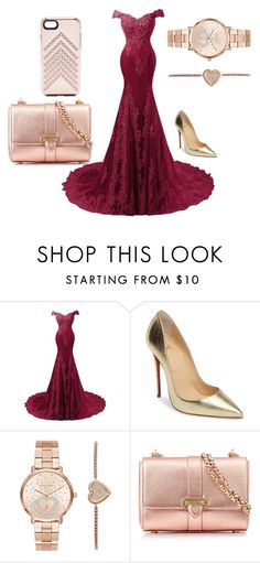 """""""Bez naslova #7"""" by almiradedic-775 ❤ liked on Polyvore featuring Christian Louboutin, Michael Kors, Aspinal of London and Rebecca Minkoff"""