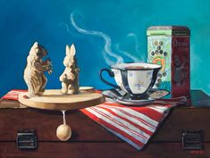 Stories with Toys::Michelle Waldele, fine art oil painter of representational, classical realism and vintage whimsy Hyperrealistic Art, Classical Realism, Still Life Oil Painting, Bachelor Of Fine Arts, Oil Painters, Art Oil, Vintage Toys, Illustration, Artist