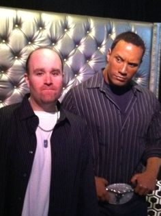 Madame Tussauds Wax Museum, The Rock and I