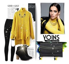 """Yoins 9"" by fashion-addict35 ❤ liked on Polyvore featuring women's clothing, women, female, woman, misses, juniors and yoins"