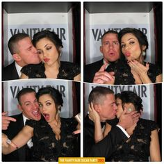 When Channing Tatum and Jenna Dewan-Tatum produced the most adorable photobooth pictures of all time.