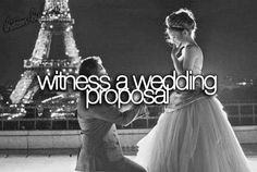 Have witnessed Three. . But is definitely A Amazing Moment for not only the Engaged Couple but for everyone Present!