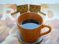 danboard love a cup of coffee