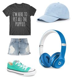 """""""Untitled #5"""" by smminnick ❤ liked on Polyvore featuring Frame, Converse, Sole Society and Beats by Dr. Dre"""