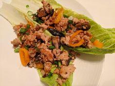 Sweet & Spicy Chicken Lettuce Wraps