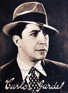 Carlos Gardel, maestro del tango!