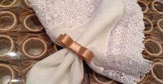 Porta Guardanapos para Casamento de Laço Chanel Fendi na Argola Ref. 107 Exclusivos By Fascination Eventos. Encomendas fascinationevento@gmail.com