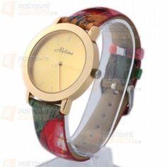 Originální hodinky - umělá kůže, více barev a poštovné ZDARMA!