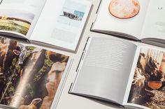 AU GRÉ DES CHAMPS, Cookbook on Behance