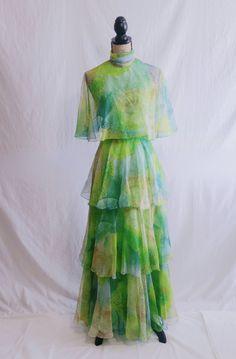 Vintage Miss Elliette California Dress by MiKsedEmotions on Etsy