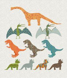 1,2,3,4 - I See a Dinosaur