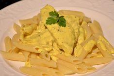Curry & kycklingpasta