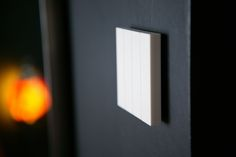 lightswitch (white) available in multiple colors  contact aesteem on hello@aesteem.com for more info.