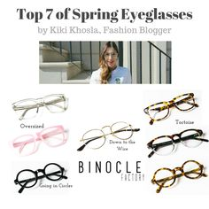 Glasses Online, Fashion Bloggers, Eyeglasses, Chic, Spring, How To Wear, Style, Eyewear, Shabby Chic