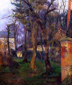 Abandoned garden in Rouen ~ Paul Gauguin, 1884