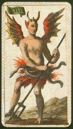 Diavolo. Antiche Minchiate Etruria. Etruria in Firenze, 1725. Lo Scarabeo Edizioni.