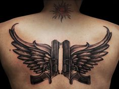 9 Best Gun Tattoo Designs for Girls | Styles At Life