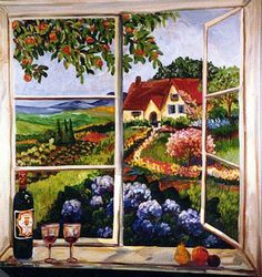 """""""Country Window"""" by Suzanne Etienne"""