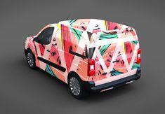 Our awesome team of designers pledge to developing superior but affordable graphics design Premium Van Mockup PSD. Vehicle Signage, Vehicle Branding, Monogram Logo, Restaurant Logo, Ice Cream Van, Van Wrap, Van Design, Free Cars, Truck Design