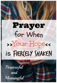 Prayer for when your