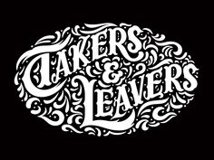 Takers And Leavers by Eric Friedensohn