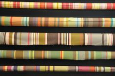 madder and rouge auckland French Stripe fabric