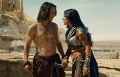 Scene from John Carter film.