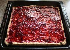 Fantastické višňovo-makové rezy, Zákusky, recept   Naničmama.sk Lasagna, Ethnic Recipes, Mascarpone, Lasagne