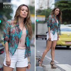 Street Style: feminino e urbano #territorioanimale #animalebrasil
