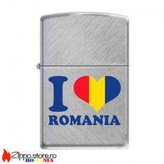 Zippo Romania-I Love Romania este o bricheta originala creata de Zippo Manufacturing Company special pentru tara noastra. Pentru cei ce iubesc Romania, le recomandam una din brichetele acestei colectii frumoase oferite de magazinul nostru online.