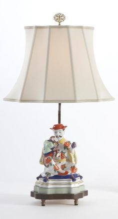 Chelsea House 23-0696A China Fig Lamp-Man [68232]
