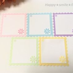 Happy Smile, Embellishments, Bullet Journal, Scrapbook, Frame, Cards, Creema, Ideas, Cards To Make