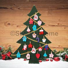 Kerstboom   borduren editie 67-2019