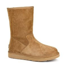 UGG Women's Pierce Boot-Simple lines and a sleek silhouette come together in the UGG Pierce. From the Presidio Collection, this short boot features the cozy UGG comfort you love with subtle distinguishing details and a medial zipper for easy wear.