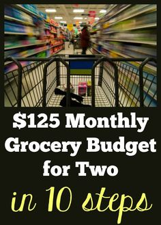How to Find Coupons and Save Money on Groceries | $125 Grocery Budget for Two