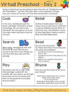 Virtual Preschool Circle Time - Week 2 - Play to Learn Pre K Activities, Preschool Learning Activities, Preschool Curriculum, Preschool Lessons, Kids Learning, Early Learning, Teaching Ideas, Homeschool, Curriculum Planning