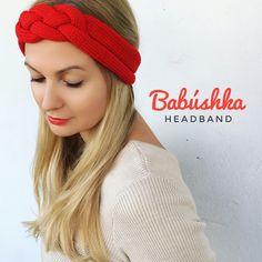 Babushka headband
