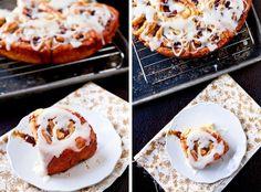 Apple Cinnamon Rolls with Jack Daniels Cream Cheese Frosting by foodiebride, via Flickr
