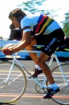 1981 Tony Doyle World Pursuit Champion (at Herne Hill Velodrome)
