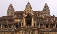 Angkor Wat, Cambodia. - Rex Features