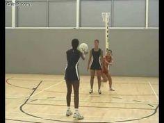 Quintic Netball - Game skills defending - Figure 8 intercepting - YouTube