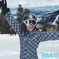 Photo: G Hannelius Skiing In Utah February 3, 2015 - Dis411