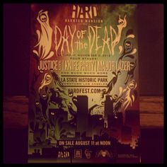 Hard Haunted 2012 Day Of The Dead 11-3-12