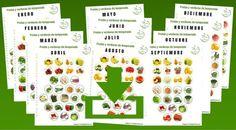 alendario de frutas y verduras de temporada