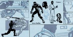 The Return of the Black Panther A behind-the-scenes look at the revival and an exclusive preview of the 1st issue